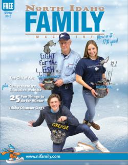 north idaho family magazine Winter issue